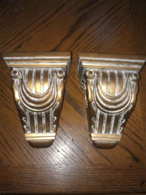 Drapery Sconces Free Gold Colored Set Of Drapery Sconces Home Decor