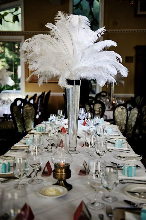great gatsby themed party ideas great gatsby table setting themed party the starlit path