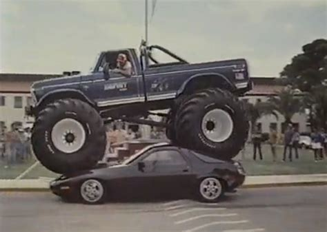 bigfoot truck bigfoot truck cannon run cars