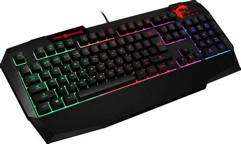 msi interceptor ds4200 gaming keyboard 11street malaysia keyboards