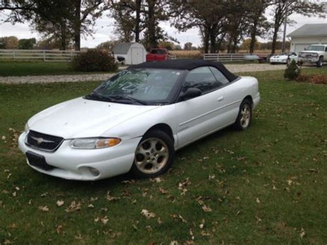 1999 Chrysler Sebring Jxi Convertible by Purchase Used 1999 Chrysler Sebring Jxi Convertible In