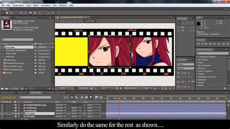 film pendek after effect adobe after effects film reel tuts intro