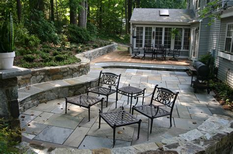 Your Patio Stone Pavers Concrete Or Revolutionary Paver And Gravel Patio