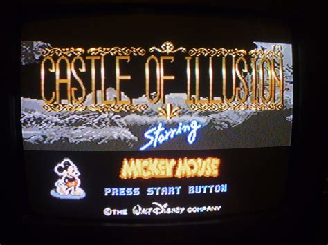 castle of illusion genesis sega genesis castle of illusion starring mickey mouse