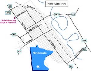 location of the king church new ulm mn