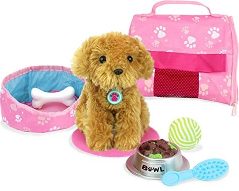 american doll puppy s pets for 18 inch dolls complete puppy play set doll for 18