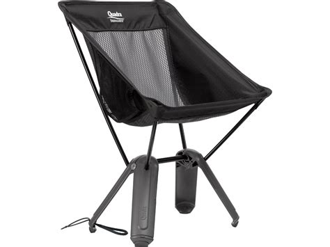 Packable C Chair by Thermarest Quadra Lightweight Packable Chair Black Mesh