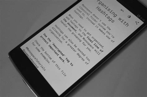 monospace for android is a minimalist notes writing app top 5 minimal markdown editors for android