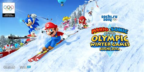 mario sonic   sochi  olympic winter games wii