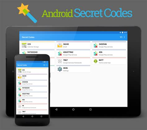 android secret codes android secretcodes by simonmarquis