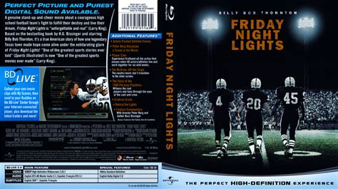 Bluray Lights friday lights scanned covers friday lights dvd covers