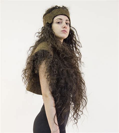 Dress Made From Human Hair Would You Wear It by Een Eindhovense Student Is Bezig Om Kleding Mensenhaar