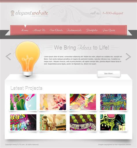medical web design layout 50 truly eye catching and detailed web layout tutorials