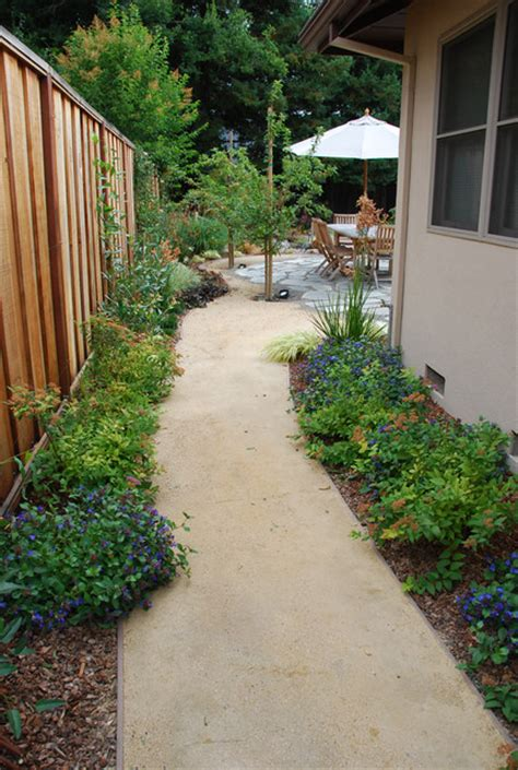 Japanese Decorating Ideas side yard path to patio asian landscape san