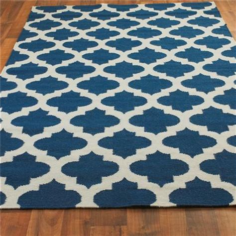 copy cat chic shades of light ironwork trellis dhurrie rug