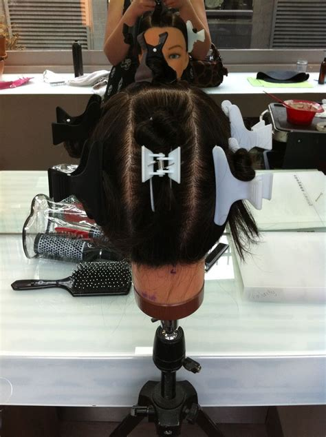 how to section hair for foil highlights 84 best hair done at college images on pinterest college