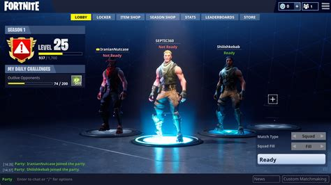 fortnite usernames fortnite crossplay feature works incredibly well gameondaily