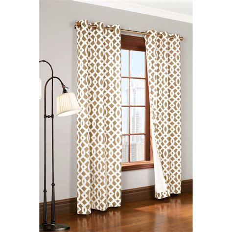 trellis drapes thermalogic weathermate trellis curtains 80x63 quot grommet