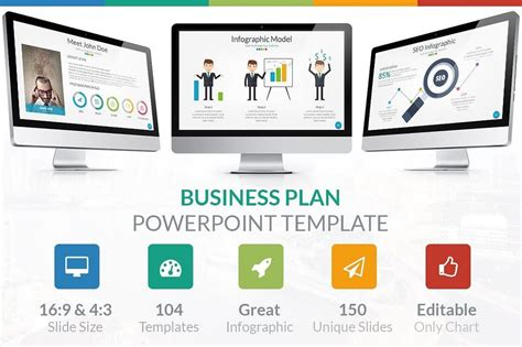 60 Beautiful Premium Powerpoint Presentation Templates Free Business Plan Template Ppt