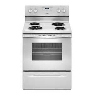 Cooktop Replacement Shop Whirlpool Freestanding 4 8 Cu Ft Electric Range
