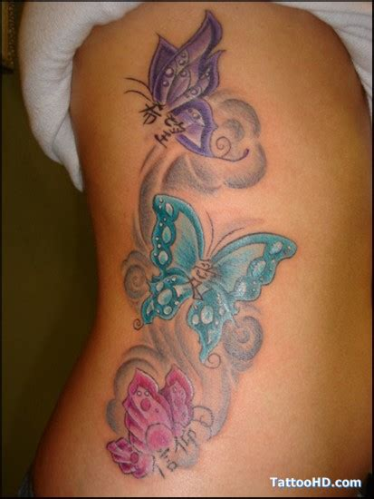 small purple butterfly tattoo pink teal purple butterflies ideas pickers