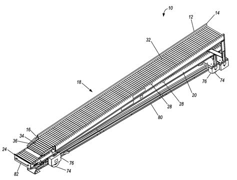 c section discharge instructions patent us7416075 telescoping conveyor with powered and