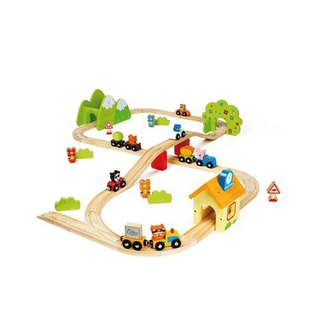 house of toys jolieville wooden train set