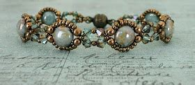 linda's crafty inspirations: bracelet of the day: bubble
