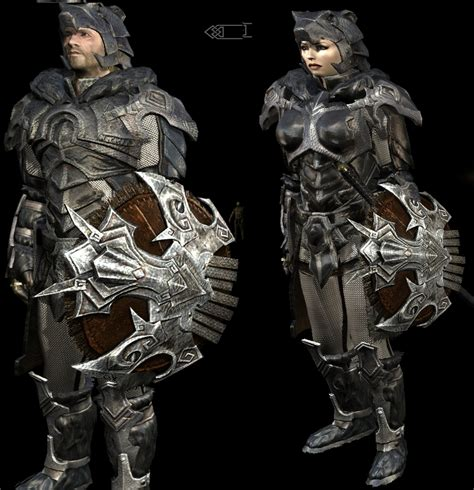 nordic knight armor nordic carved light armor dragonborn edition at skyrim