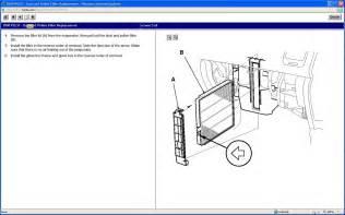 honda pilot cabin filter location honda free engine
