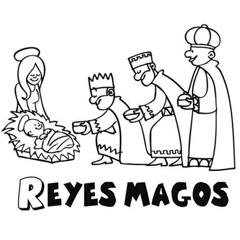 imagenes de los reyes magos infantiles 10 dibujos de reyes magos para colorear