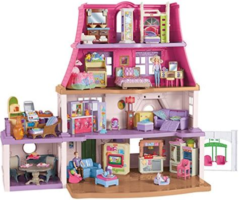 doll house games with family fisher price loving family dollhouse buy online in uae toy products in the uae