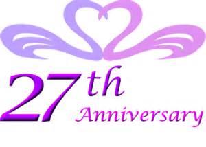 27th wedding anniversary gift ideas perfect 27th