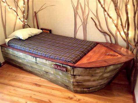 diy boat bed frame 7 super cool diy kids beds diy thought