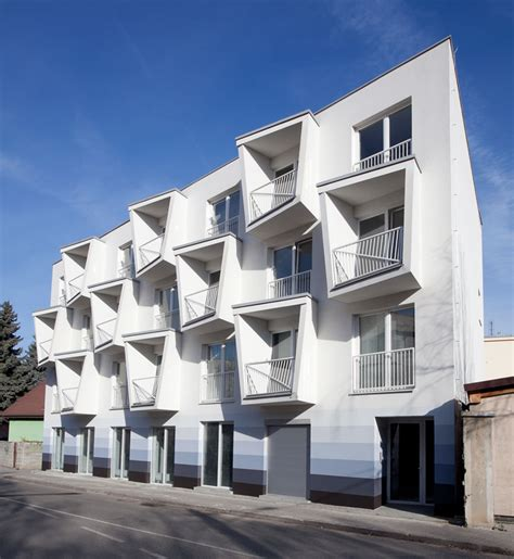 designboom apartment north star apartments by nice architects feature extruded