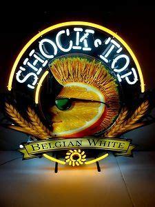 shock top bar a shock top neon beer sign bar new house ideas pinterest