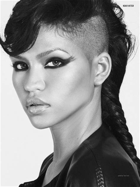 braided hairstyles with half shaved hair long half shaved hairstyle with braids hair pinterest