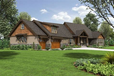 craftsman style ranch homes mascord house plan 2471 outdoor living master plan and