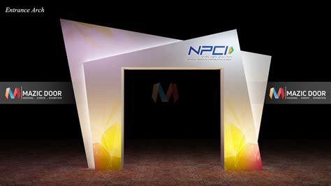 npci conference setup mazic door