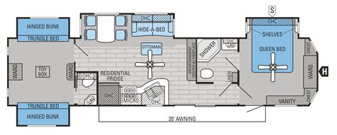 outstanding 2 bedroom travel trailer floor plans and rv