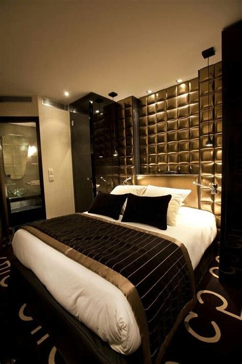 shop stylish black and gold bedroom