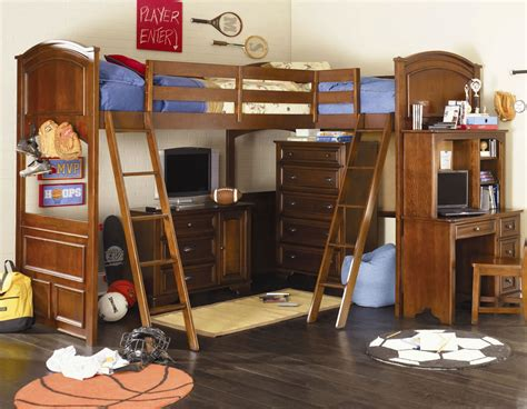 Furniture Loft Bed by Lea Furniture Deer Run Bi Loft Bed