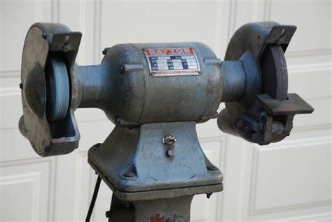 pedestal bench grinder dayton 3 4 hp bench pedestal grinder 5353 jpg of huge