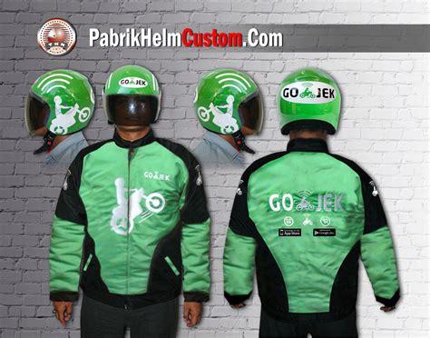 desain jaket gojek paket helm dan jaket pabrikhelm com jual helm murah