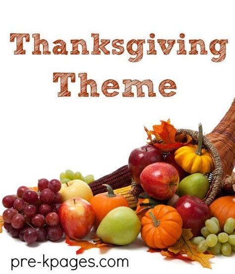 Kindergarten Themes Thanksgiving | thanksgiving literacy book lists math activities and