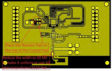pcb layout software review for cc2538 cc2592 or cc2520 cc2592 mesh networks zigbee
