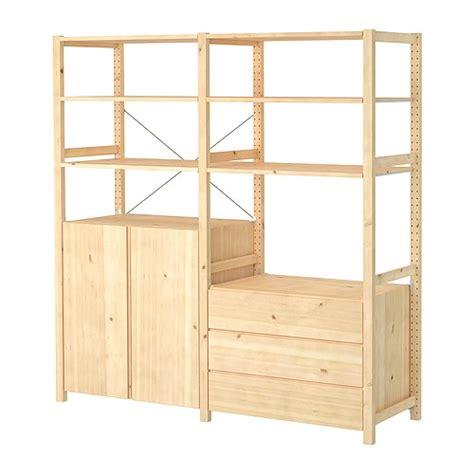 IVAR 2 sektioner/hylder/skab/kommode   IKEA