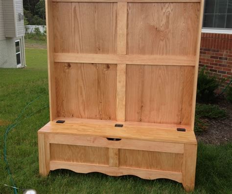 entryway bench woodworking projects diy furniture wood