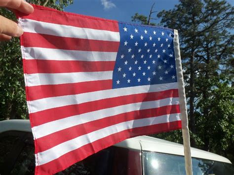 antenna american flags fit antenna on your classic or antique car truck ebay