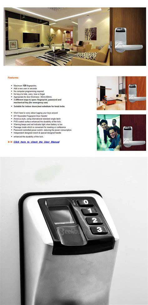 Adel 3398 Door Lock - adel diy 3398 fingerprint lock